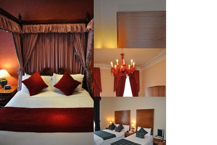 Argyll Hotel photo collage