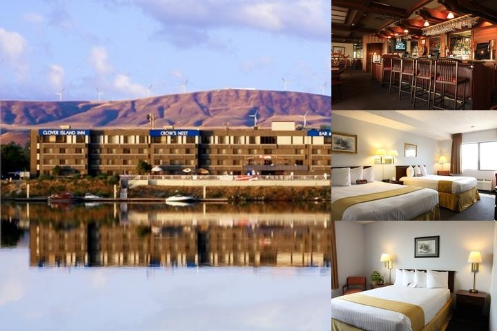 Clover Island Inn photo collage