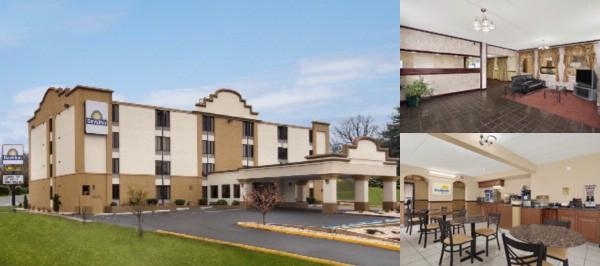 Hagerstown Days Inn photo collage