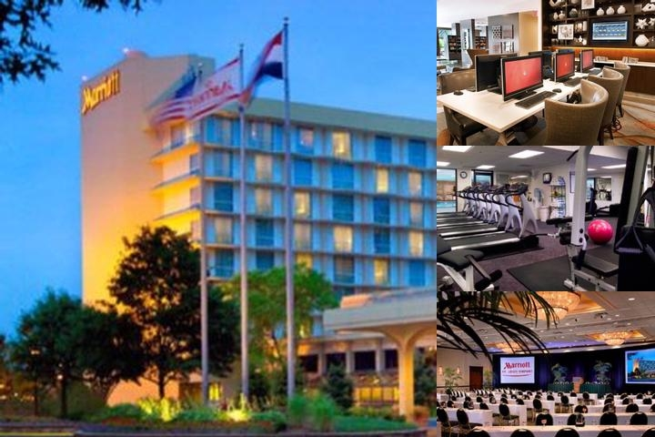 St. Louis Airport Marriott photo collage