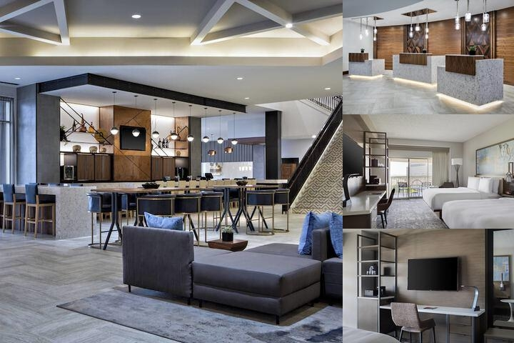 Marriott Dallas Las Colinas photo collage