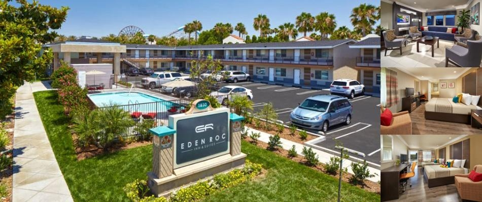 Eden Roc Inn & Suites Anaheim photo collage