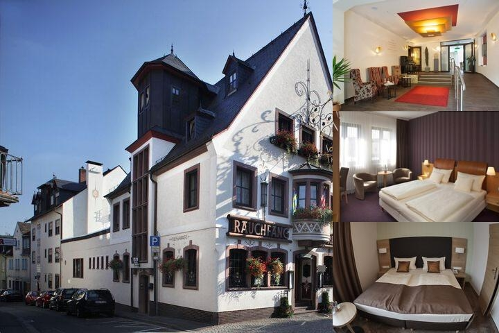 Central Hotel Ringhotel Ruedesheim photo collage