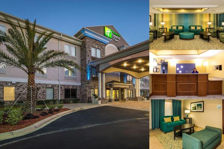 Holiday Inn Express Jacksonville Blount Island photo collage