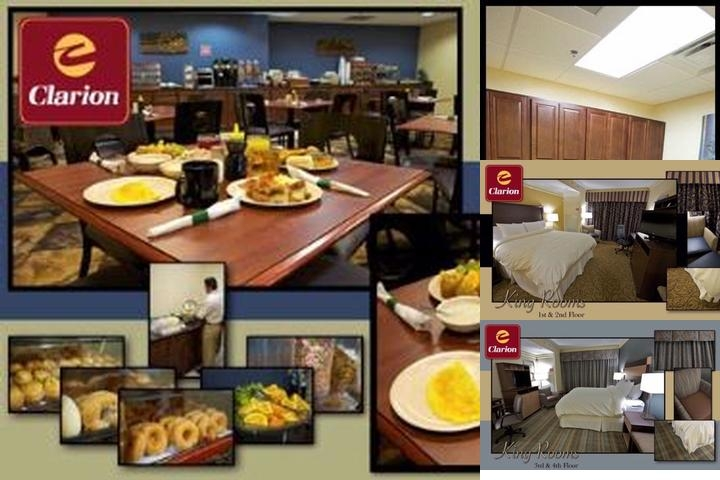 Clarion Inn Pigeon Forge photo collage