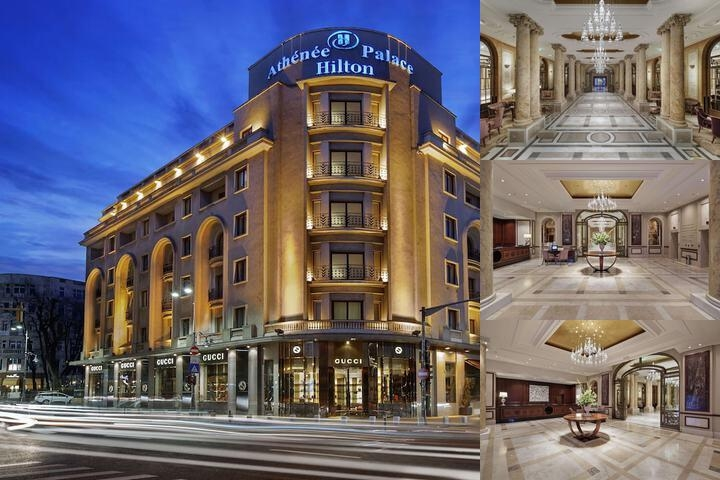 Athenee Palace Hilton Bucharest photo collage