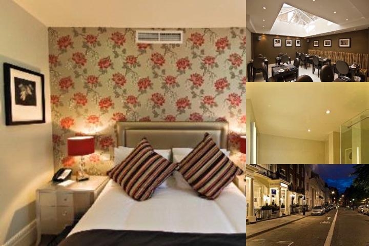 The Tophams Hotel Belgravia photo collage