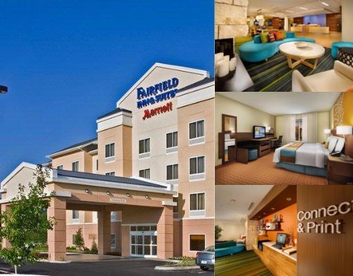 Fairfield Inn & Suites Watertown Thousand Islands photo collage