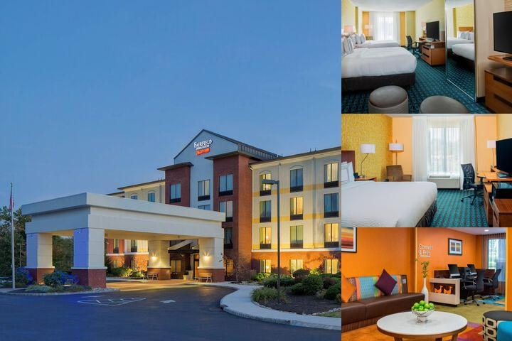 Holiday Inn Express Hotel & Suites Bridgewater Bra photo collage