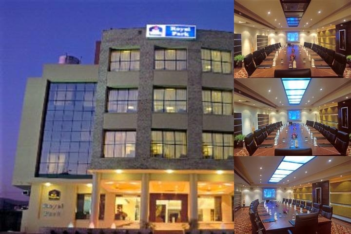 Best Western Royal Park photo collage