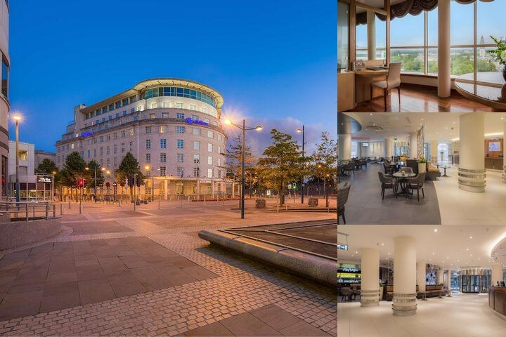Hilton Cardiff photo collage