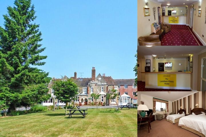Larkfield Priory Hotel & Restaurant photo collage