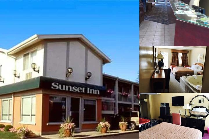 Sunset Inn photo collage