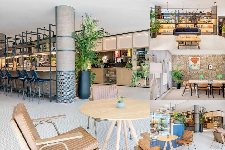 Tryp Berlin Mitte photo collage