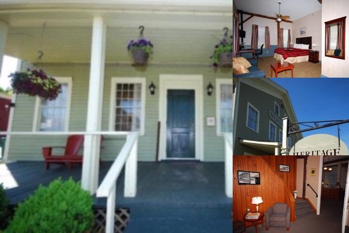 Heritage Inn of Litchfield photo collage