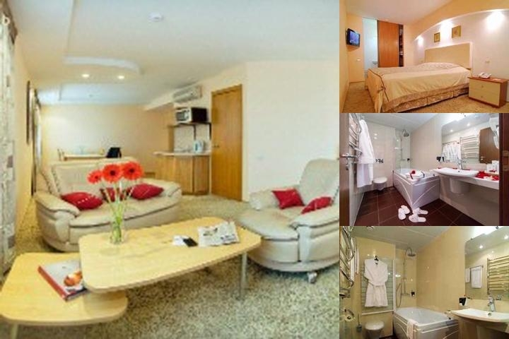 Azimut Hotel Stavropol photo collage