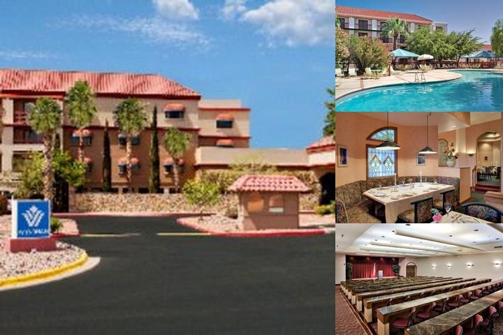 Wyndham El Paso Airport photo collage