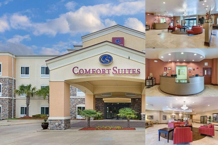 Comfort Suites Leesville photo collage