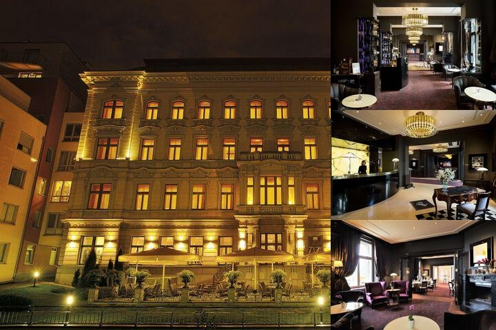 Le Palais Art Hotel Prague photo collage