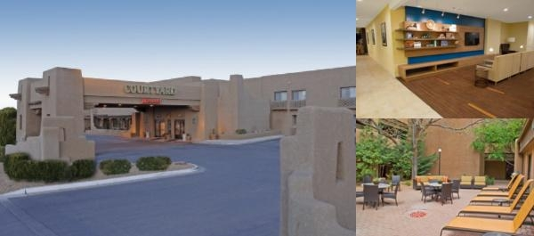 Courtyard Santa Fe by Marriott photo collage