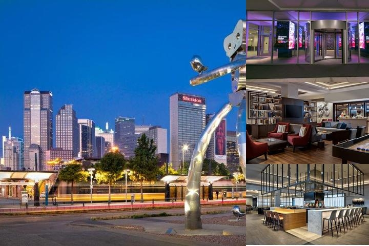 Sheraton Dallas Hotel photo collage