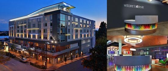 Aloft Asheville Downtown photo collage
