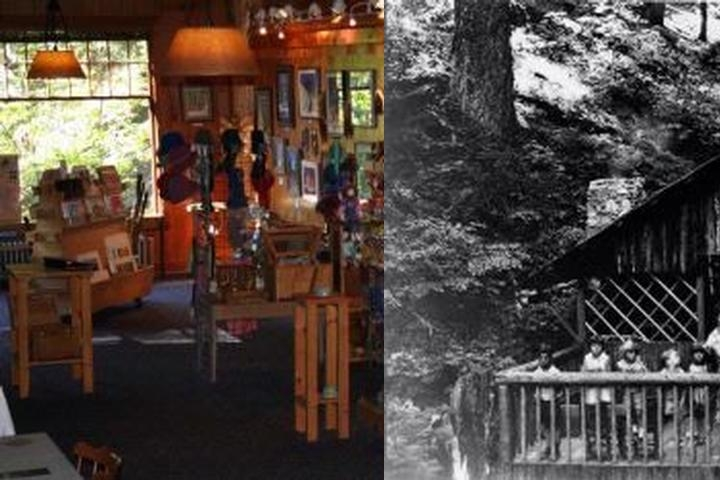 The Chateau at the Oregon Caves photo collage