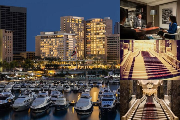 Intercontinental Phoenicia Beirut photo collage