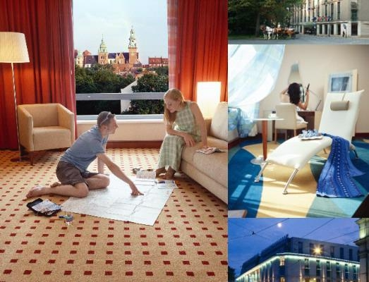 Radisson Blu Hotel Krakow photo collage