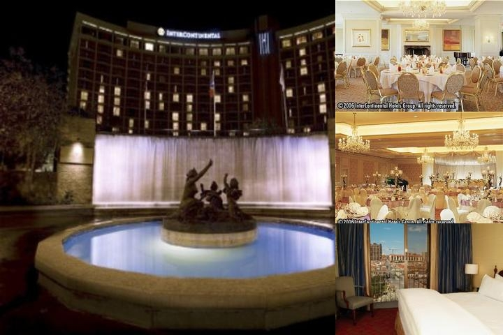Intercontinental Kansas City photo collage