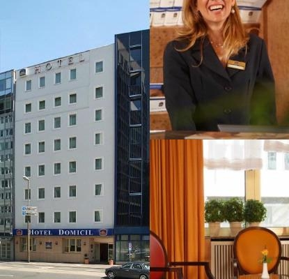 Best Western Hotel Domicil photo collage