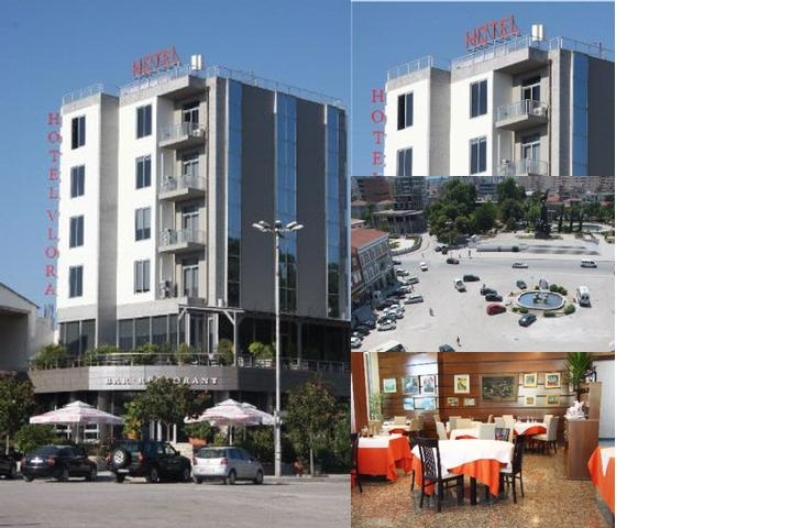 Hotel Vlora photo collage