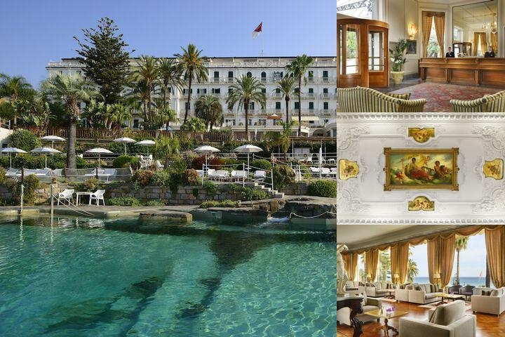 Royal Hotel San Remo photo collage