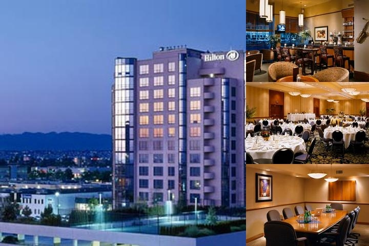 Hilton Vancouver Airport photo collage