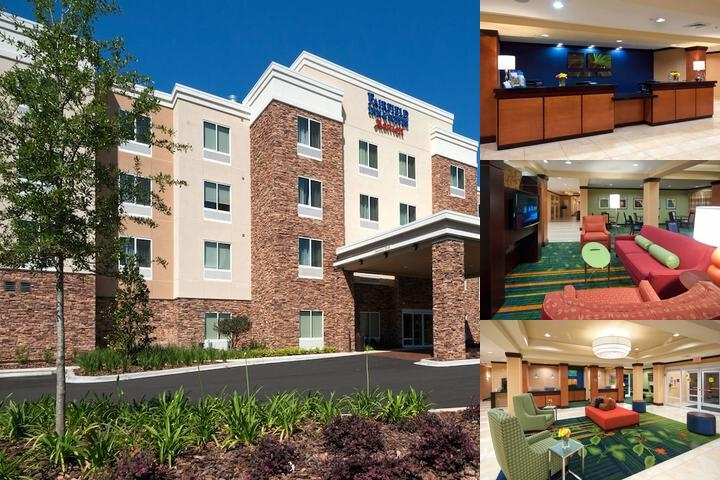 Fairfield Inn & Suites Tallahassee Central photo collage