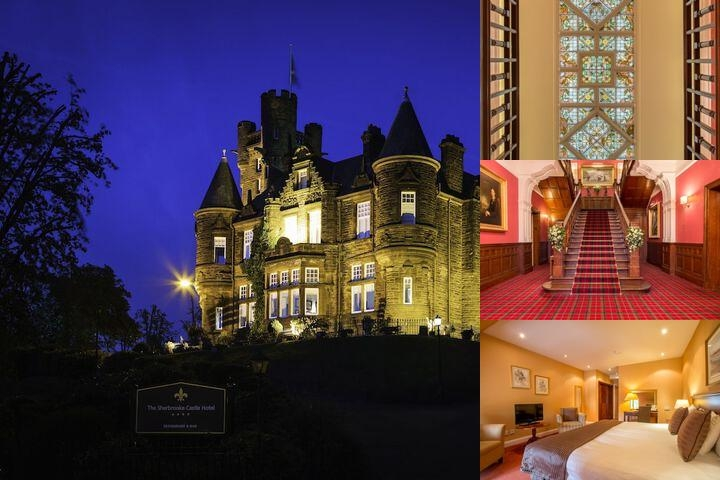 Sherbrooke Castle Hotel photo collage