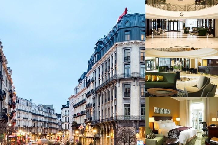 Brussels Marriott Hotel photo collage