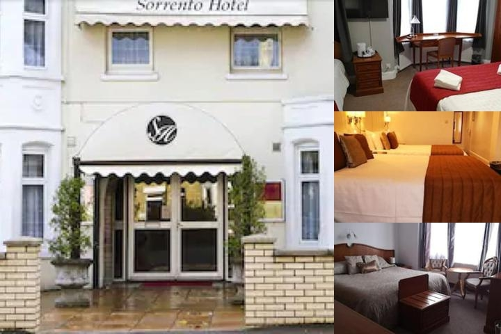 Sorrento Hotel photo collage