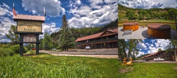 High Country Lodge photo collage
