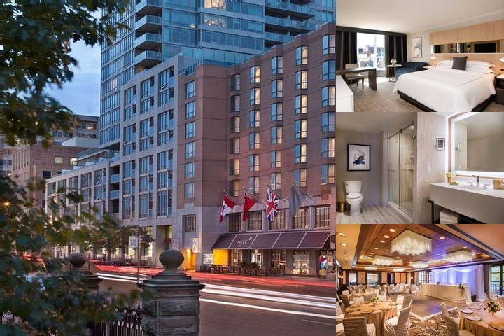 Intercontinental Toronto Yorkville photo collage
