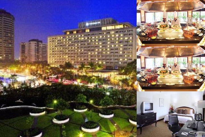 Intercontinental Manila photo collage