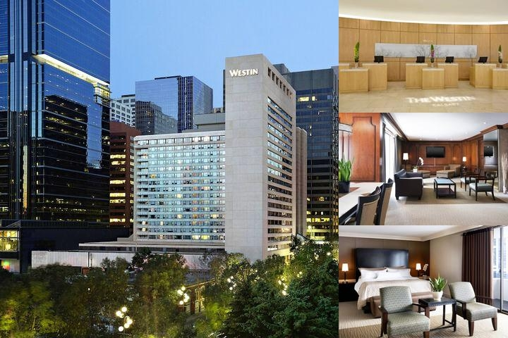 The Westin Calgary photo collage