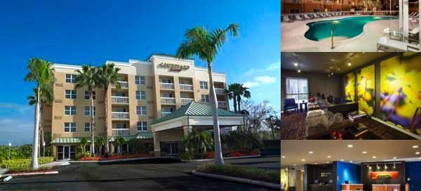 Courtyard by Marriott Miami Aventura Mall photo collage