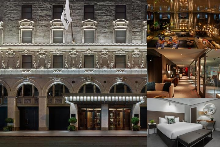 Paramount Hotel New York photo collage
