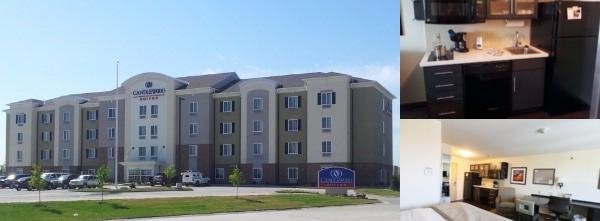 Candlewood Suites St. Joseph photo collage