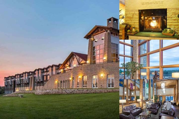 Lied Lodge & Conference Center photo collage