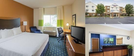 Middletown Fairfield Inn photo collage