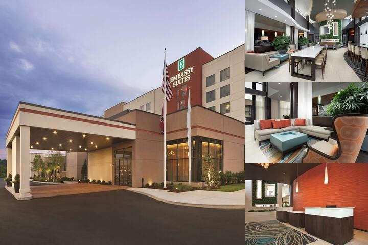 Embassy Suites Knoxville West photo collage