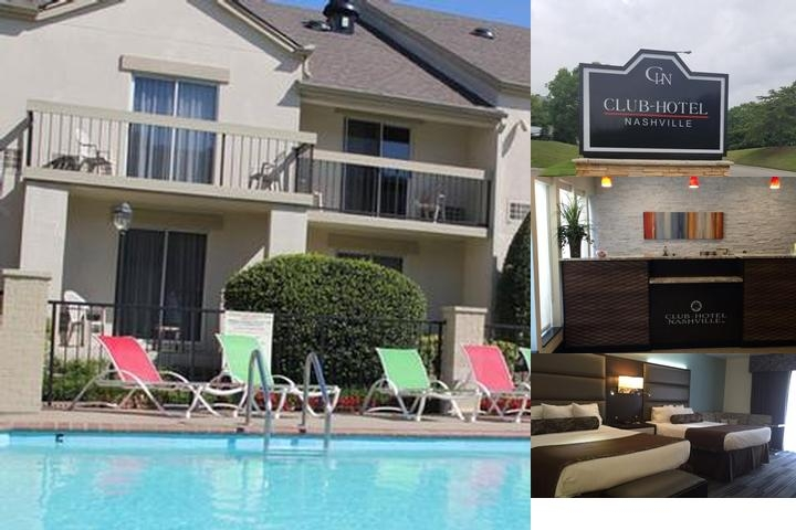 Clubhotel Inn & Suites Airport / Opryland photo collage