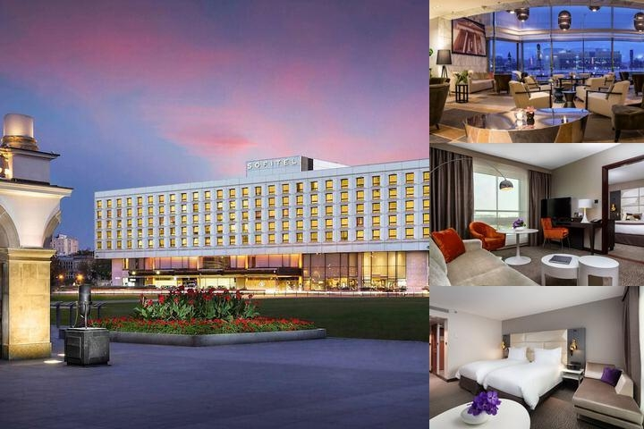 Sofitel Warsaw Victoria photo collage